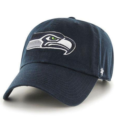 9e6d5b59fee29 Seattle Seahawks Navy Blue Adjustable  47 Brand Dad Hat