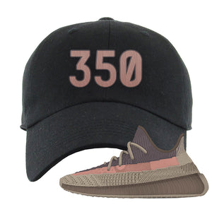Yeezy 350 v2 Ash Stone Dad Hat | 350, Black