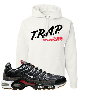 Air Max Plus Remix Pack Hoodie | Trap To Rise Above Poverty, White
