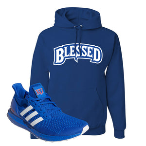 Ultra Boost 1.0 Kansas Hoodie | Blessed Arch, Royal Blue