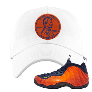 Foamposite One OKC Dad Hat | White, Penny