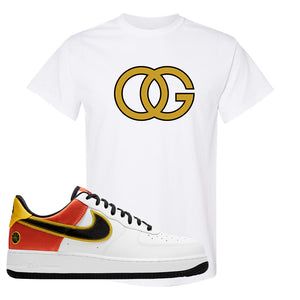 Air Force 1 Low Roswell Rayguns T Shirt | OG, White