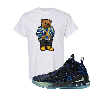 LeBron 17 Constellations T Shirt | Sweater Bear, Ash