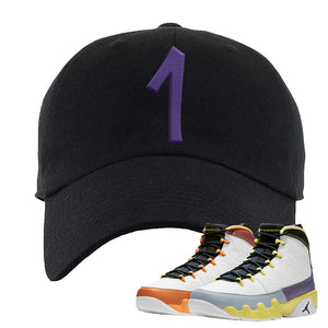 Air Jordan 9 Change The World Dad Hat | Penny One, Black