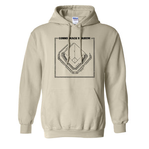 Connie Mack Pullover Hoodie | Connie Mack Stadium Natural Pullover Hoodie