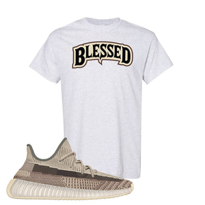 Yeezy 350 v2 Zyon T Shirt | Ash, Blessed Arch