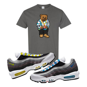 Air Max 95 QS Greedy T Shirt | Charcoal, Sweater Bear