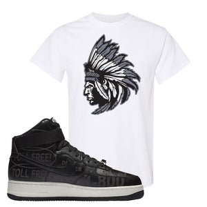 Air Force 1 High Hotline T Shirt | Indian Chief, White
