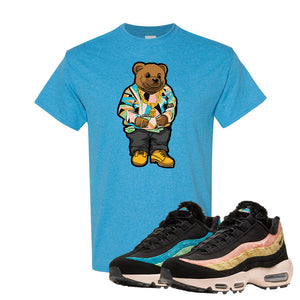 Air Max 95 Sergio Lozano T Shirt | Sweater Bear, Heather Sapphire