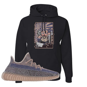 Yeezy Boost 350 V2 Fade Pullover Hoodie | Attack Of The Bear, Black
