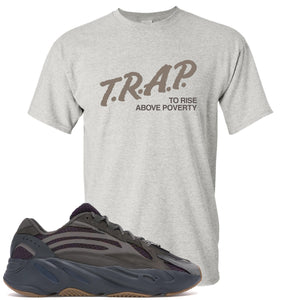 Yeezy Boost 700 Geode Sneaker Hook Up Trap Rise Above Sports Gray T-Shirt
