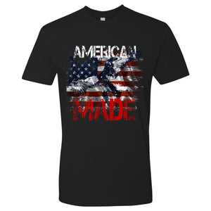 Standard Issue American Made Bald Eagle Black T-Shirt