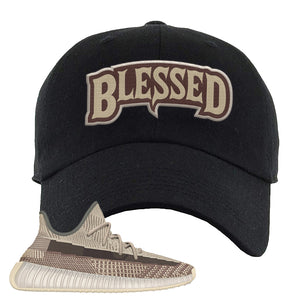 Yeezy 350 v2 Zyon Dad Hat | Black, Blessed Arch