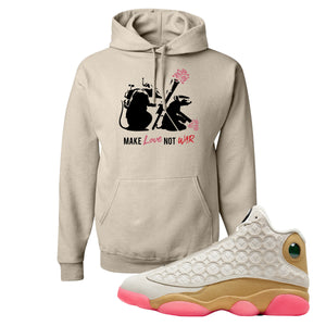 Army Rats Sandstone Pullover Hoodie to match Jordan 13 Chinese New Year Sneaker