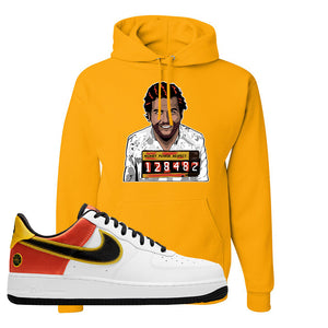 Air Force 1 Low Roswell Rayguns Hoodie | Escobar Illustration, Gold