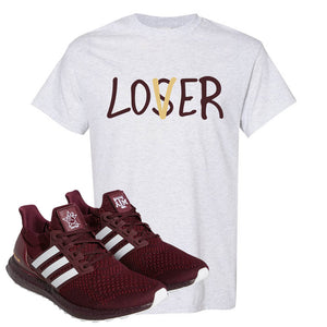 Ultra Boost 1.0 Texas A&M T Shirt | Lover, Ash