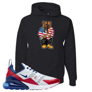 Air Max 270 USA Hoodie | Black, Sweater Bear