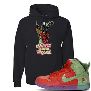 SB Dunk High 'Strawberry Cough' Hoodie | Black, Don't Hate The Player