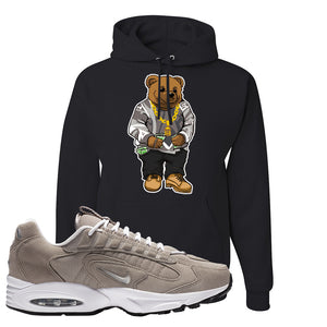 Air Max Triax 96 Grey Suede Hoodie | Sweater Bear, Black