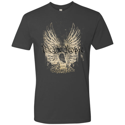 Standard Issue We The People Bald Eagle Black Grunt Life T-Shirt