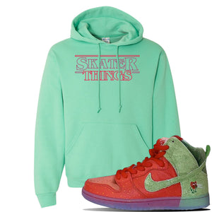 SB Dunk High 'Strawberry Cough' Hoodie | Cool Mint, Skater Things