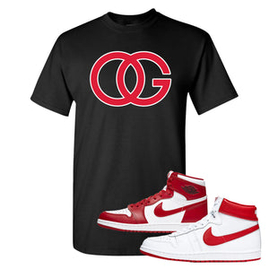 Jordan 1 New Beginnings Pack Sneaker Black T Shirt | Tees to match Nike Air Jordan 1 New Beginnings Pack Shoes | OG