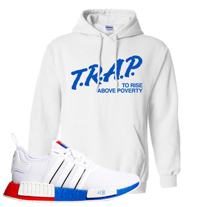NMD R1 Seoul Hoodie | White, Trap To Rise Above Poverty