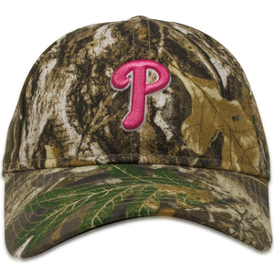 Philadelphia Phillies Women's Realtree 9Twenty Adjustable Baseball Cap