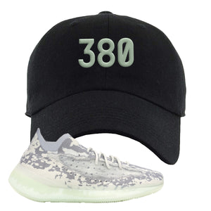 Yeezy 380 Alien Dad Hat | Black, 380