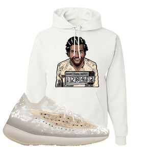 Yeezy Boost 380 'Pepper' Hoodie | White, Escobar Illustration