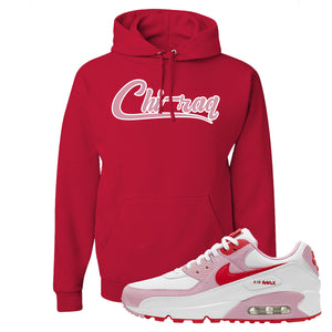Air Max 90 Love Letter Hoodie | Chiraq, Red