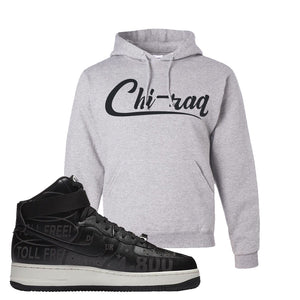 Air Force 1 High Hotline Hoodie | Chiraq, Ash