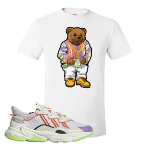 Ozweego Chaos T Shirt | White, Sweater Bear