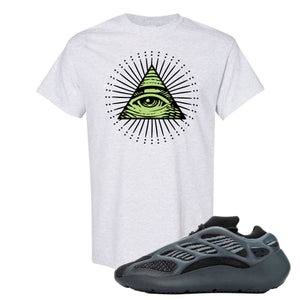 Yeezy 700 V3 Alvah T Shirt | Ash, All Seeing Eye