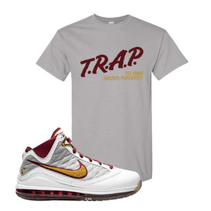 LeBron 7 MVP T Shirt | Gravel, Trap To Rise Above Poverty