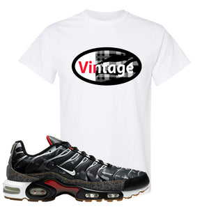 Air Max Plus Remix Pack T Shirt | Vintage Oval, White