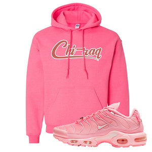 Air Max Plus Atlanta City Special Hoodie | Chiraq, Safety Pink