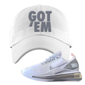 Air Max 720 Utility White Dad Hat | White, Got Em
