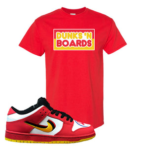 Nike Dunk Low Vietnam 25th Anniversary T-Shirt | Dunks N Boards, Red