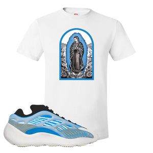 Yeezy 700 v3 Azareth T Shirt | White, Virgin Mary