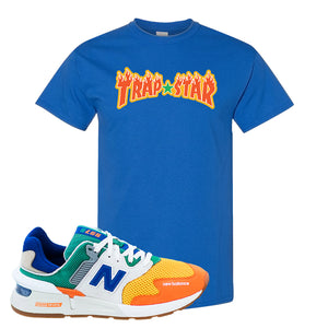 997S Multicolor Sneaker Royal T Shirt | Tees to match New Balance 997S Multicolor Shoes | Trap Star