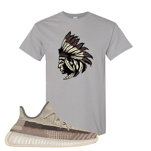 Yeezy 350 v2 Zyon T Shirt | Gravel, Indian Chief