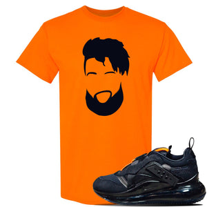 Air Max 720 OBJ Slip Sneaker Safety Orange T Shirt | Tees to match Nike Air Max 720 OBJ Slip Shoes | OBJ Catch