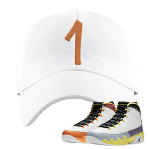 Air Jordan 9 Change The World Dad Hat | Penny One, White