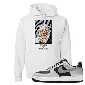 Air Force 1 3M Snake Hoodie | God Told Me, White