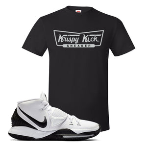 Kyrie 6 Oreo T Shirt | Black, Krispy Kicks