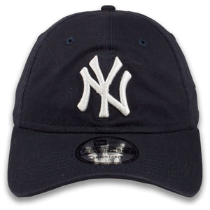 New York Yankees Classic Navy Blue Adjustable New Era 9Twenty Dad Hat