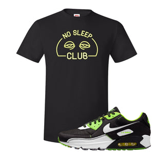 Air Max 90 Exeter Edition Black T Shirt | No Sleep Club, Black