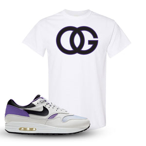 Air Max 1 DNA Series Sneaker White T Shirt | Tees to match Nike Air Max 1 DNA Series Shoes | OG