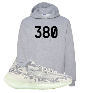 Yeezy 380 Alien Hoodie | Athletic Heather, 380
